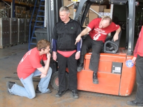 Wear It Red Day 2012 at Potts Print (UK) – 3