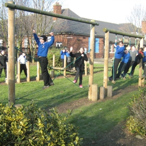 Press Release: New Playground a Reality for Central Walker School ThisSeptember