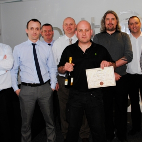 Latest Employee Length of Service Award at Potts Print (UK)