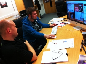 Second TyneMet College Graphic Design Student Begins Potts Print (UK) Training & Skills Academy