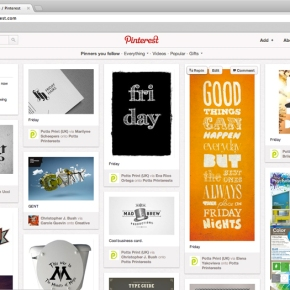 Proudly Presenting the Particularly Printeresting Potts Pinterest Page