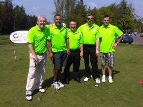 Potts Team Wins COCO Golf Day at Slaley Hall