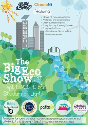 Potts Print (UK) Partners With Big Eco Show This September