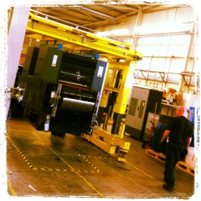 New B2 Heidelberg Press Installed at Potts Print (UK)
