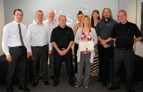 Another 10 Year Employee Length of Service Award at Potts Print (UK)