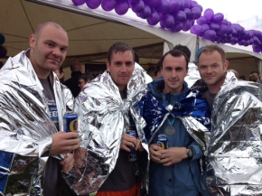 Three of Our Lads Beat the Great NorthRun!