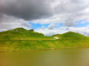Northumberlandia (canny big, isn't it?)