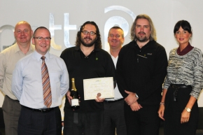 PottsWorld: Our Latest Award-Winning Employee is Anthony Burton