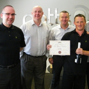 Chris Miller Picks Up 10 Year Employee Length Of Service Award
