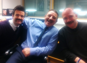 Final Week of Moustachery for our Valiant MoBro's