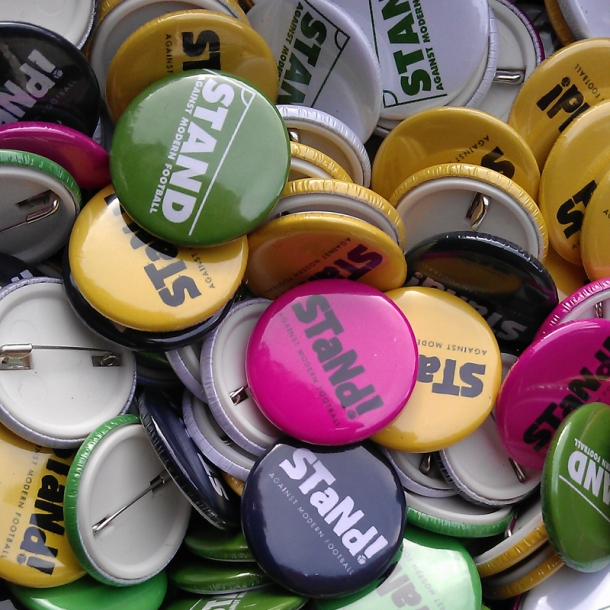 Stand AMF badges