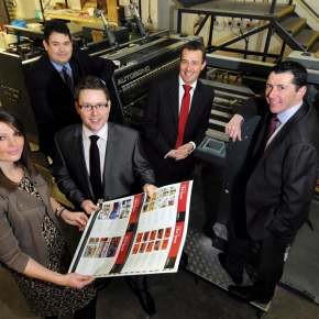 Potts Print (UK) doubles finishing capacity with funding from Barclays