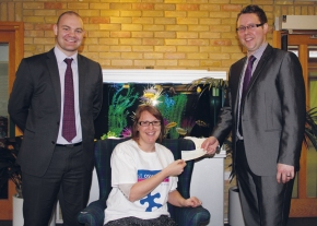 Potts Print (UK) Supports St Oswald's Hospice With Charitable Donation