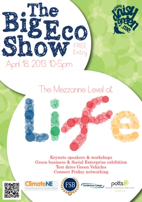 Book Up for The Big Eco Show2013