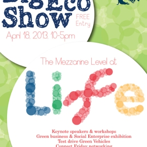 Book Up for The Big Eco Show 2013