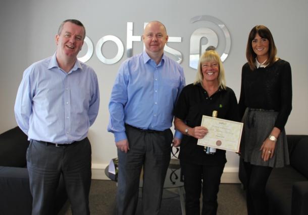 Sharon Little 10 Year Award