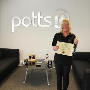 Employee Length of Service Award for SharonLittle
