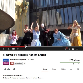 St Oswalds Do The Harlem Shake