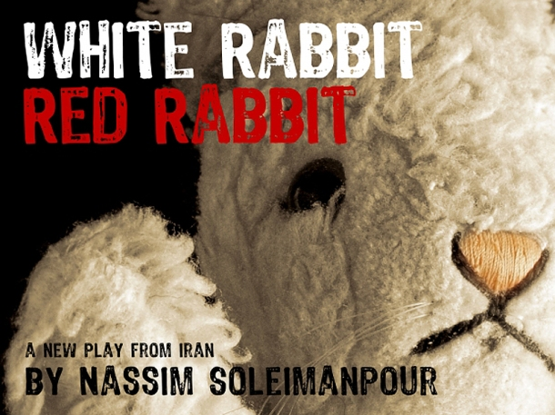 White Rabbit Red Rabbit Poster