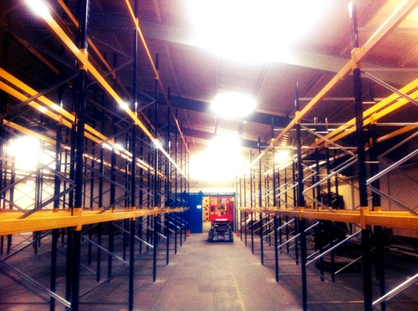 Potts Print (UK) Warehouse