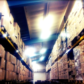 Progress at Potts Print (UK) Storage and DistributionFacility