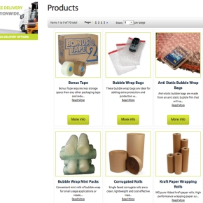 Potts Packaging Website Launched