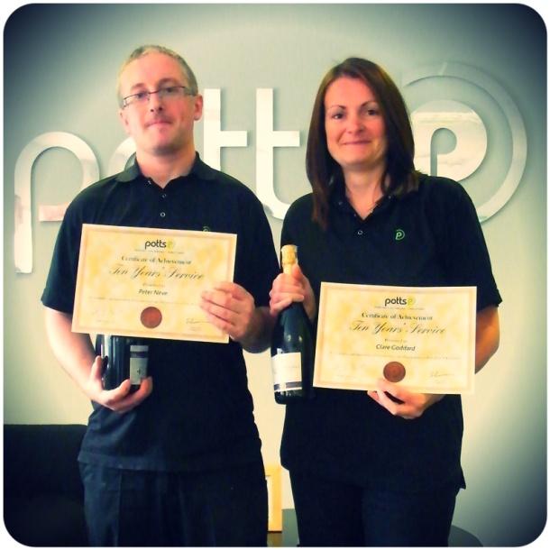 Employee Length of Service Awards