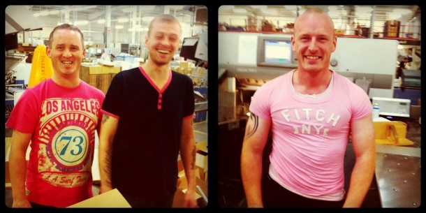 Wear It Pink at Potts Print (UK)