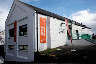 Northern Print Ouseburn Open Studios 2013