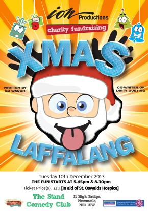 Christmas Laffalang for St Oswald's Hospice at The Stand Comedy Club