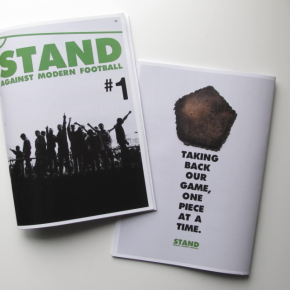 STAND FOR FOOTBALL nominated for Fanzine Of The Year