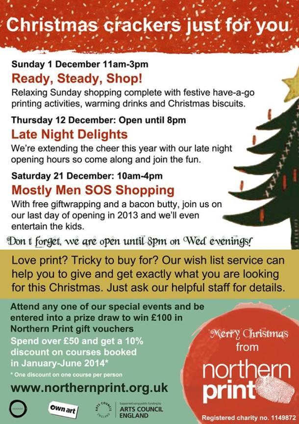 Northern Print Shopping
