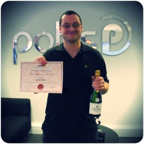 Another Ten Year Service Award At Potts This Week
