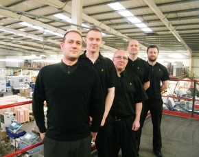 PRESS RELEASE: Potts Print (UK) Management Team Increased By Five In 2014