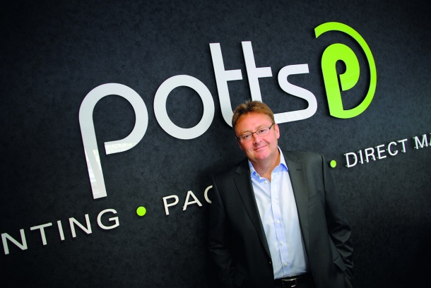 Michael Sandford-Couch, CEO, Potts Print (UK).